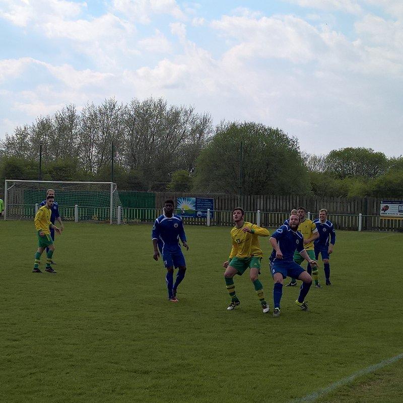 Holwell Sports 0-3 West Bridgford