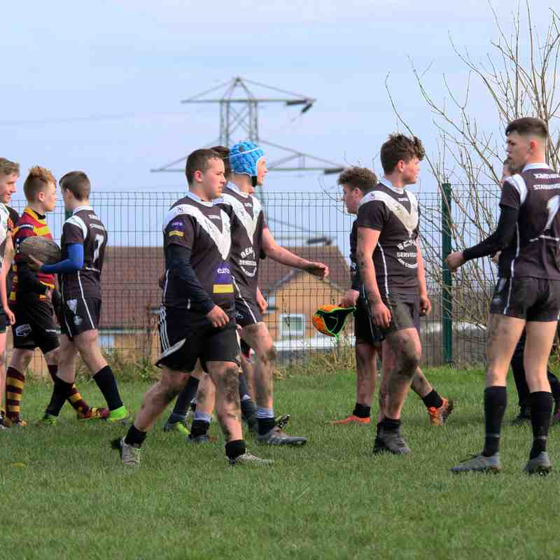 Stanningley U14's 50 v 0 Latchford Giants U14's
