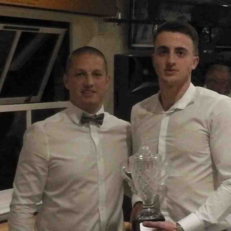 Gary and Manager's POY Bajram Pashaj