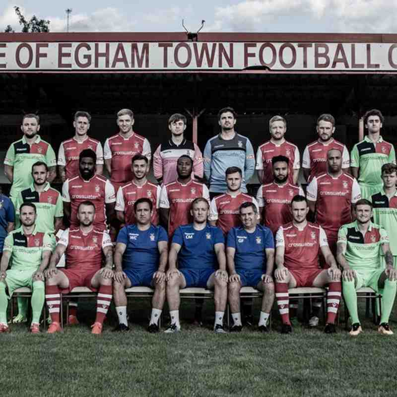 EGHAM TOWN Players & Management 2017-2018