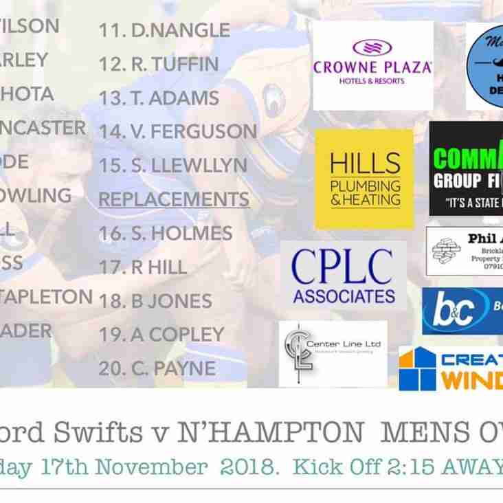 Swifts XV vs Mens Own