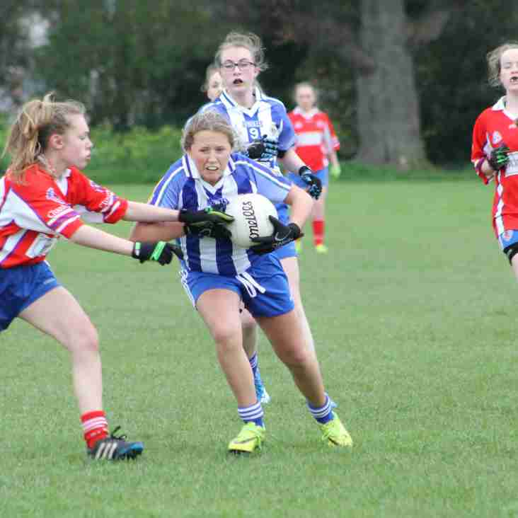 The club are hosting the British University Ladies division 3 Gaelic football football championships.