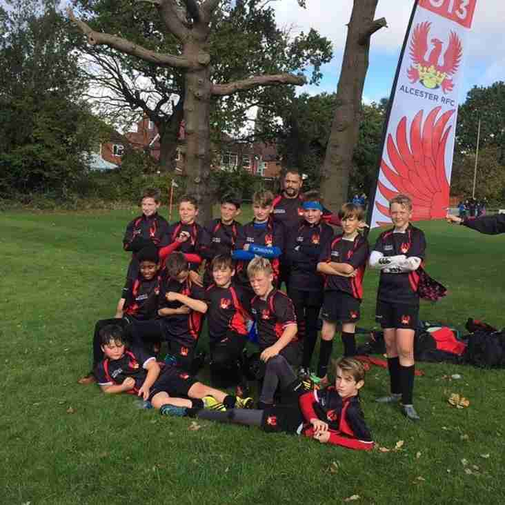 Under 13's Victory at Camp Hill 16th October 2016.