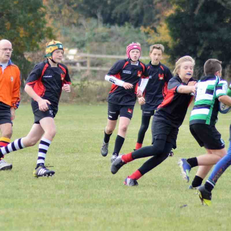 ARFC U13 v Woodrush 23/10/16