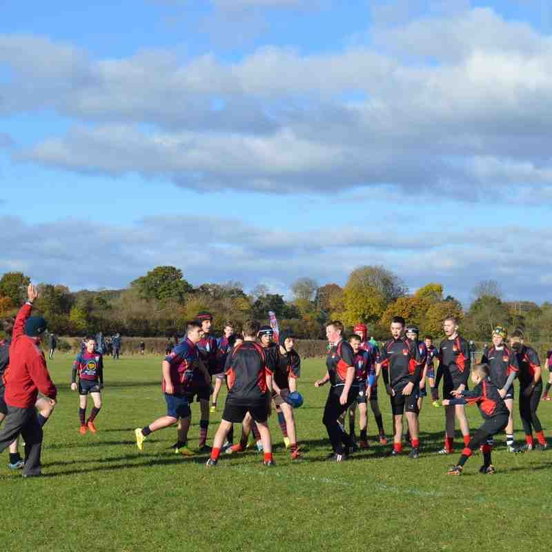 U14 Alcester RFC v Evesham 6th Nov 2016