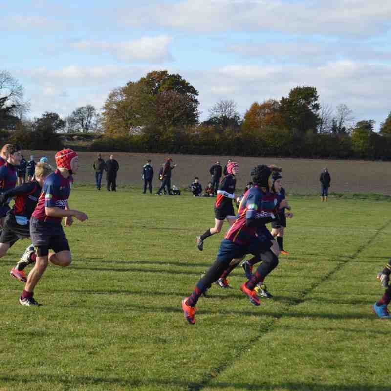 Minis & juniors fixtures 6th Nov 2016
