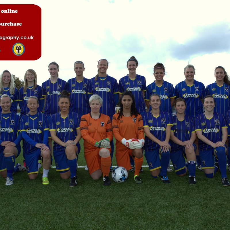 FIRST TEAM beat Bexhill United Ladies 0 - 6