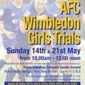 Girls Trials!