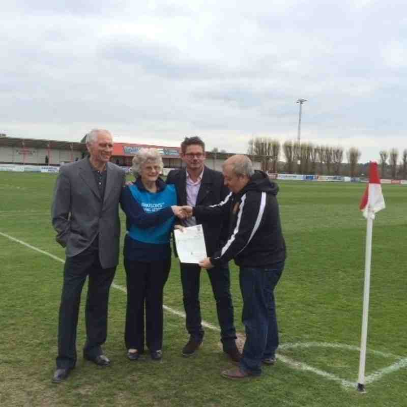 Charity Match in aid of Parkinson's UK - 19th April 2015