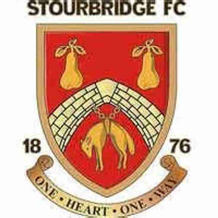 Stourbridge FC - Pre-Season Friendly schedule