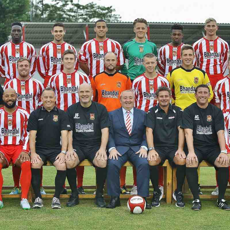 First Team Squad Photos 2015/16