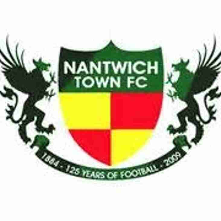 Stourbridge 4 Nantwich Town 2 - Match Report