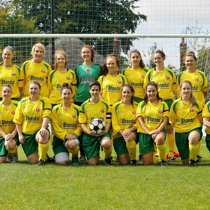Stourbridge Ladies 2015/16