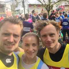 "Marathon Effort for ""Team Broadhurst"""