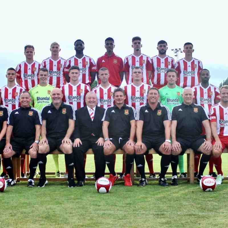First Team Squad Photos 2016/17