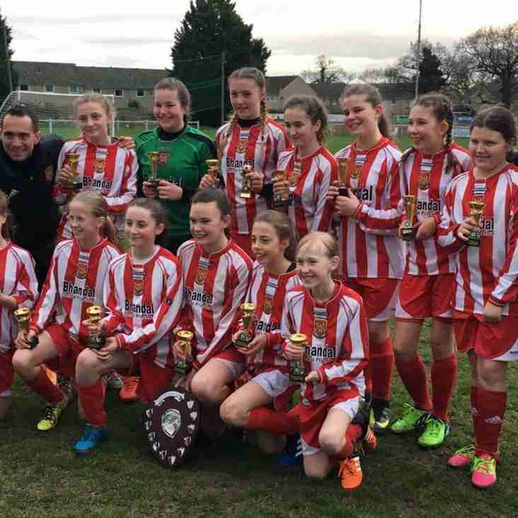 Cup Win for Glassgirls Under 13s!