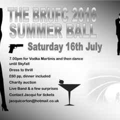 BRUFC Summer Ball 2016