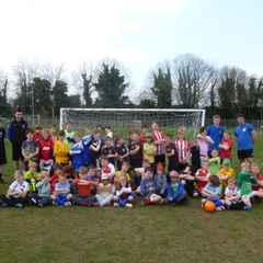 Easter Soccer School fun April 7th - 9th 2015!
