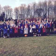 Test Valley Cluster Girls Football Festival 2016