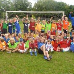 Summer soccer school 2016