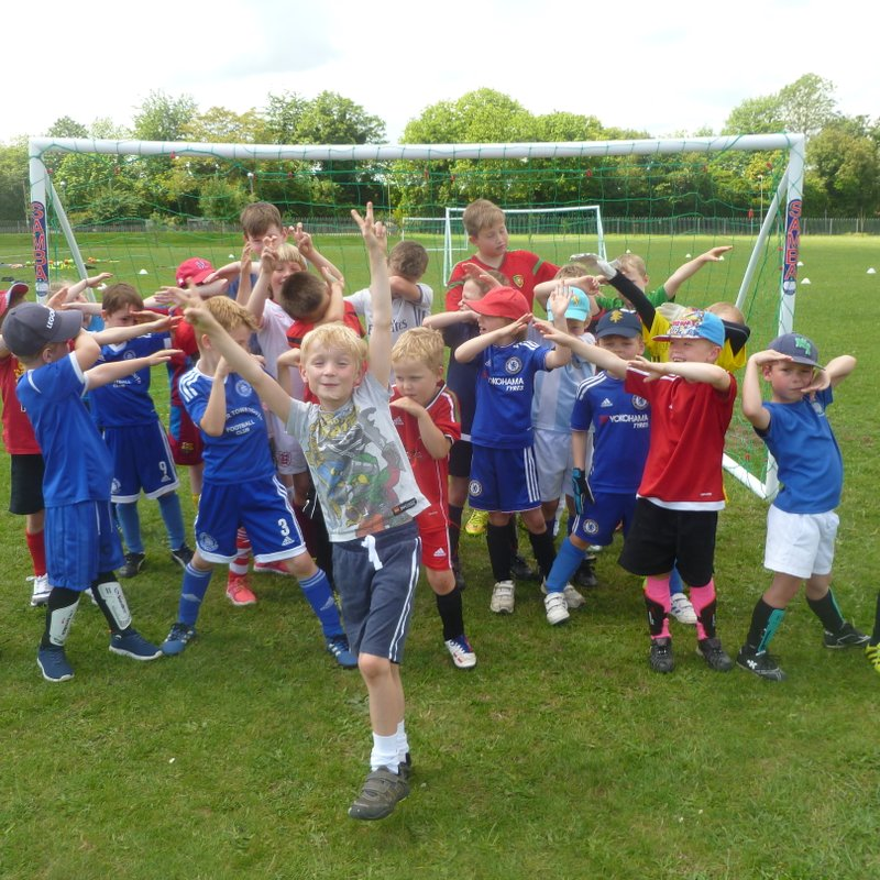 Lions in the Community May Half Term Soccer School 2017