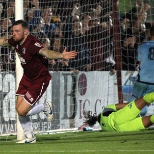 Clarets Ease Through to Last Eight