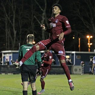 Clarets too strong for lowly Margate