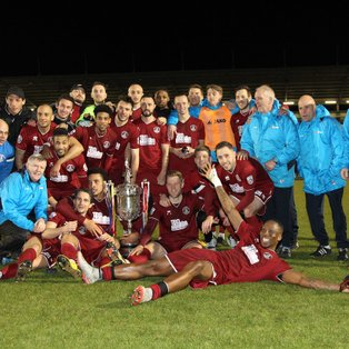 Dickson strike proves decisive as Clarets lift the BBC Essex Senior Cup