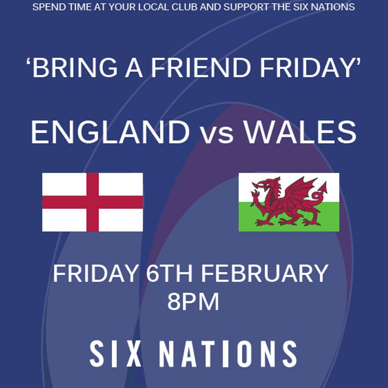 6 Nations Kick Off.