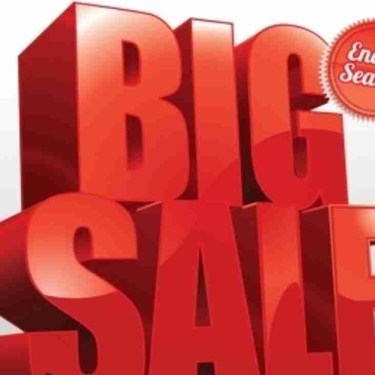 Club Shop Sale Starting tomorrow....