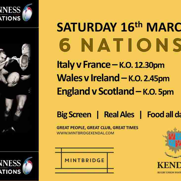 The last week for the 6 Nations and who will win??????