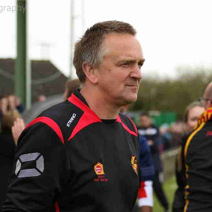 Dean Greygoose pleased with '90-minute performance' as Mildenhall Town lose 2-0 against Needham Market