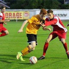 [FA Youth Cup] MTFC [U18's] 0 vs Woodbridge Town [U18's] 4