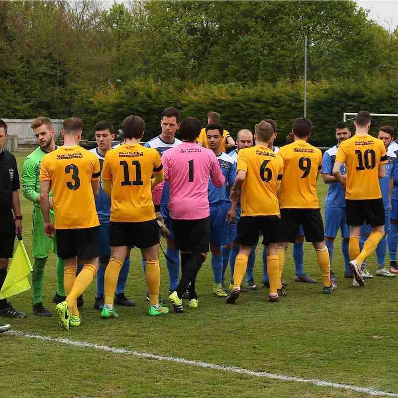 MTFC 9 [League Champs] vs Wivenhoe Town 0