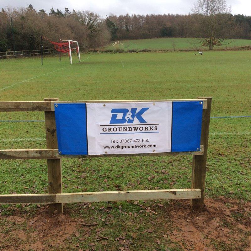 New Pitch Side Sponsor Onboard - D&K Groundworks