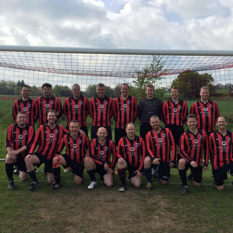Vets beat Hindhead Veterans FC 5 - 1