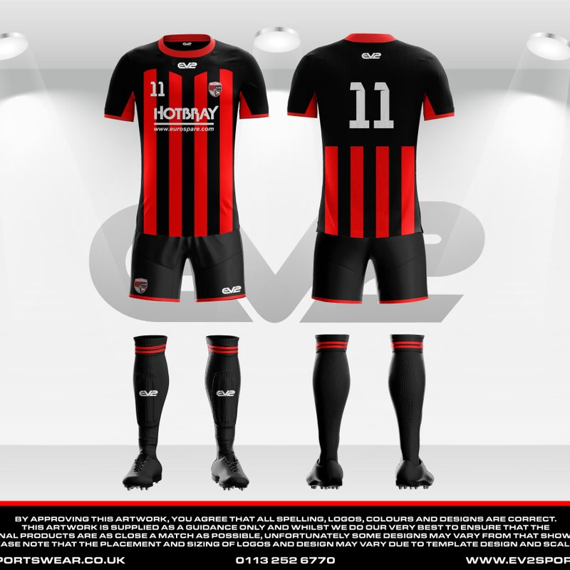 New Sponsor and Kit for Hambledon A