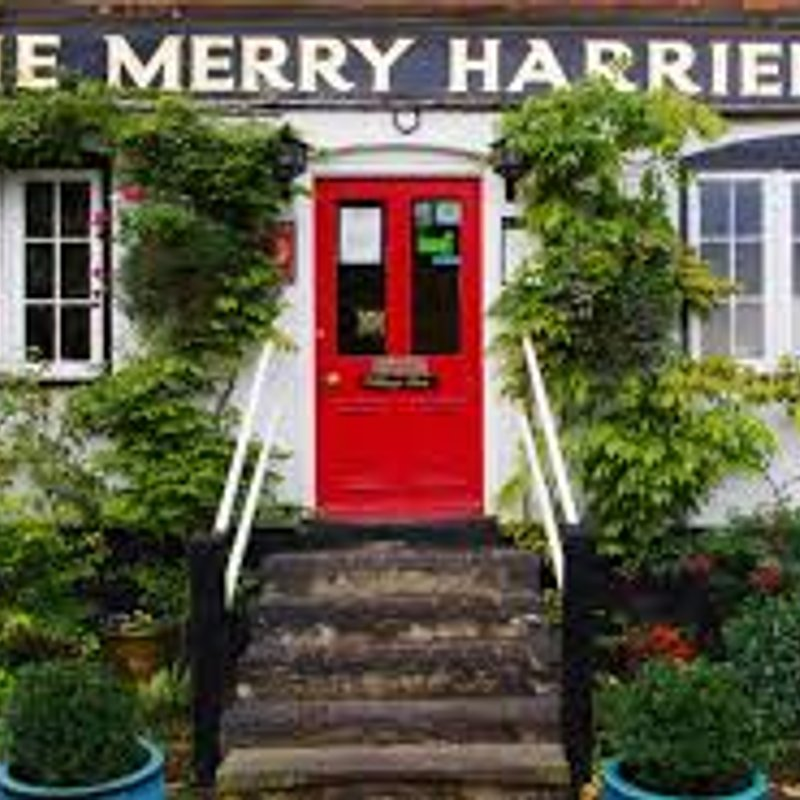 New Sponsor - The Merry Harriers