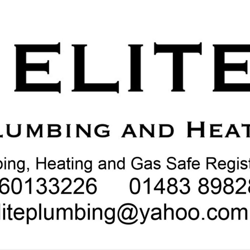 Elite  Plumbing Renew Pitch Side Banner for the 2018/19 Season