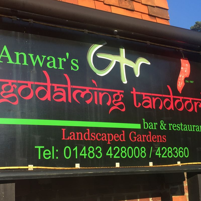 Godalming Tandoori Renew Pitch Banner