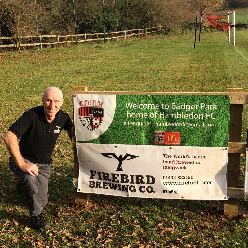 Firebird Renew Pitch Side Banner
