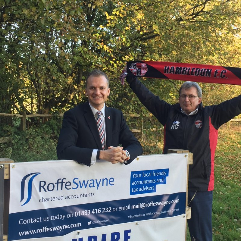 Roffe Swayne Renew Pitch Side Banner
