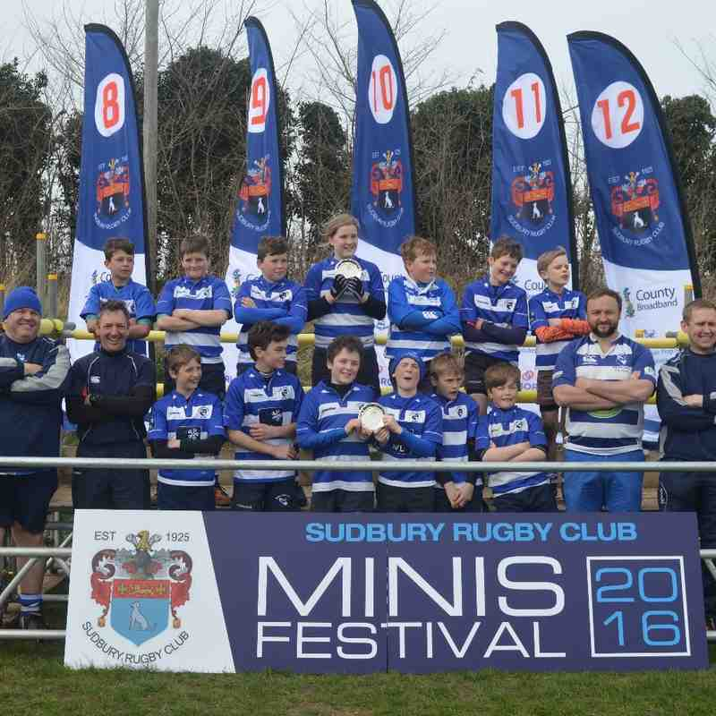 U11's @Sudbury Festival - 10/04/16. Photos by Mick Savill