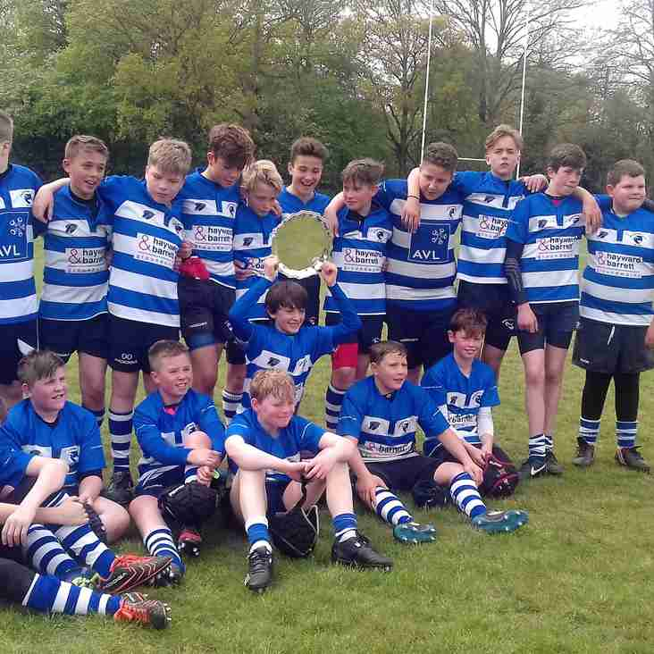 U13s Share the Spoils in Essex Cup final Victory!
