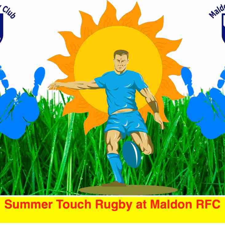 Summer Touch Rugby at Maldon RFC