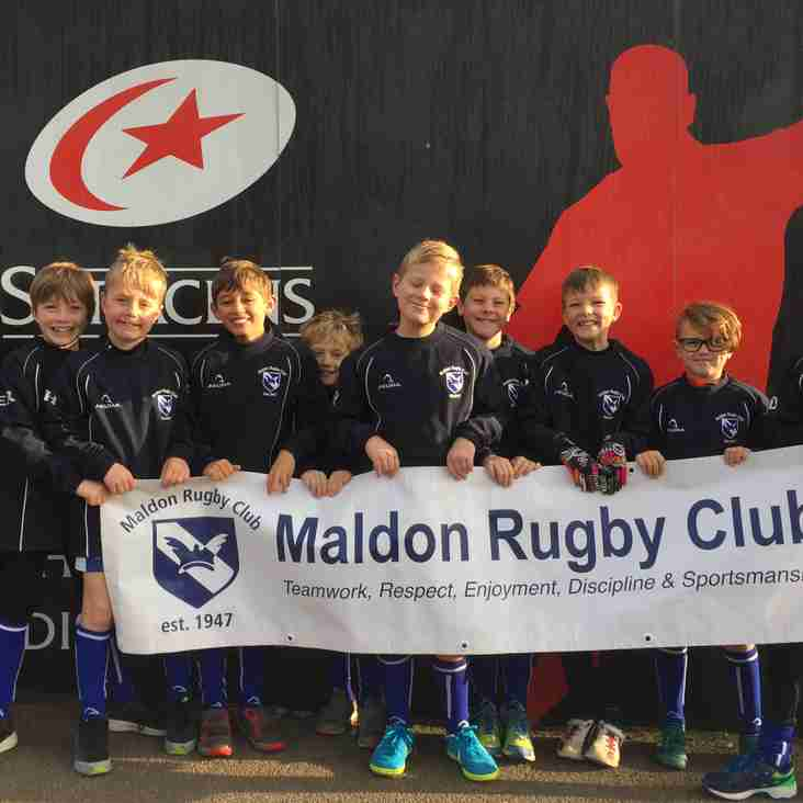 Under 9s Success at Allianz Park