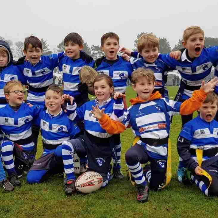 Maldon RFC Under 7s get their first taste of touring