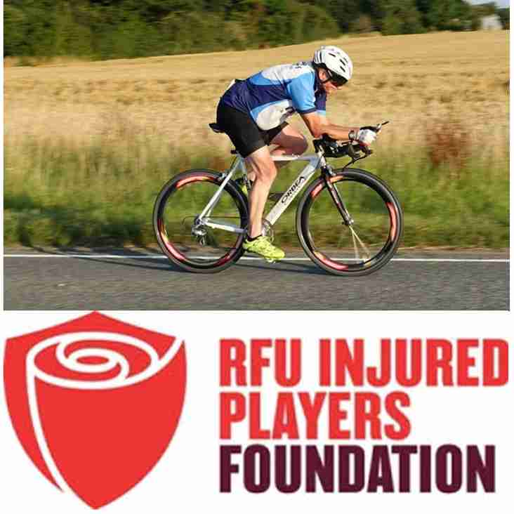 Support Colin in the Prudential Ride London 100