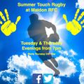 Summer Touch Rugby Tues & Thurs at Maldon RFC
