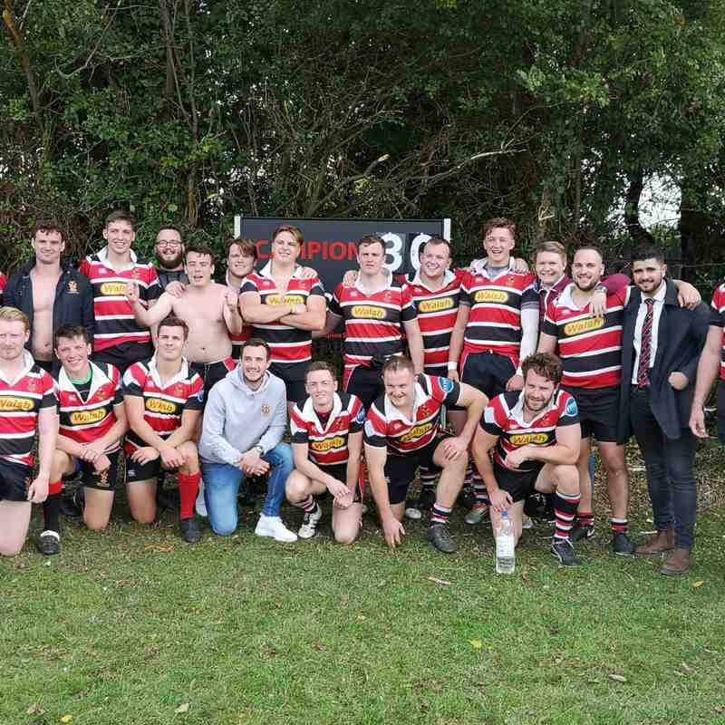 Campion RFC 30 - 27 Old Cooperians 08.09.18